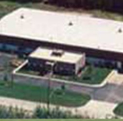 Polychem headquarters in Mentor, Ohio from areal view.